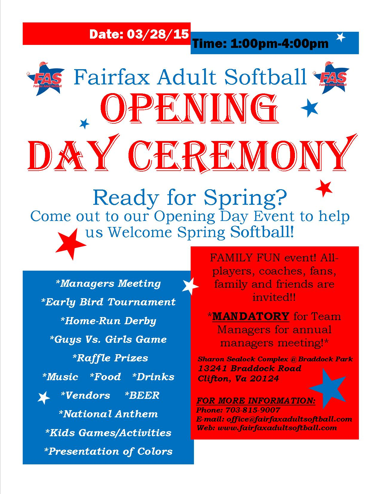 opening day flyer